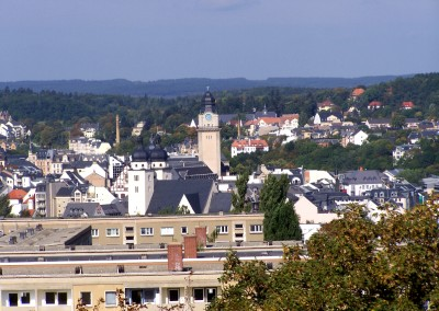 Stadtzentrum mit Rathausturm