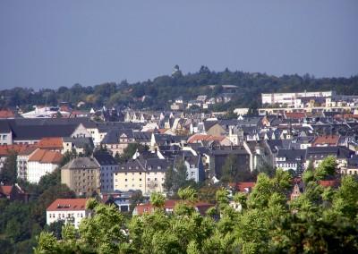 Blick Richtung Neundorf