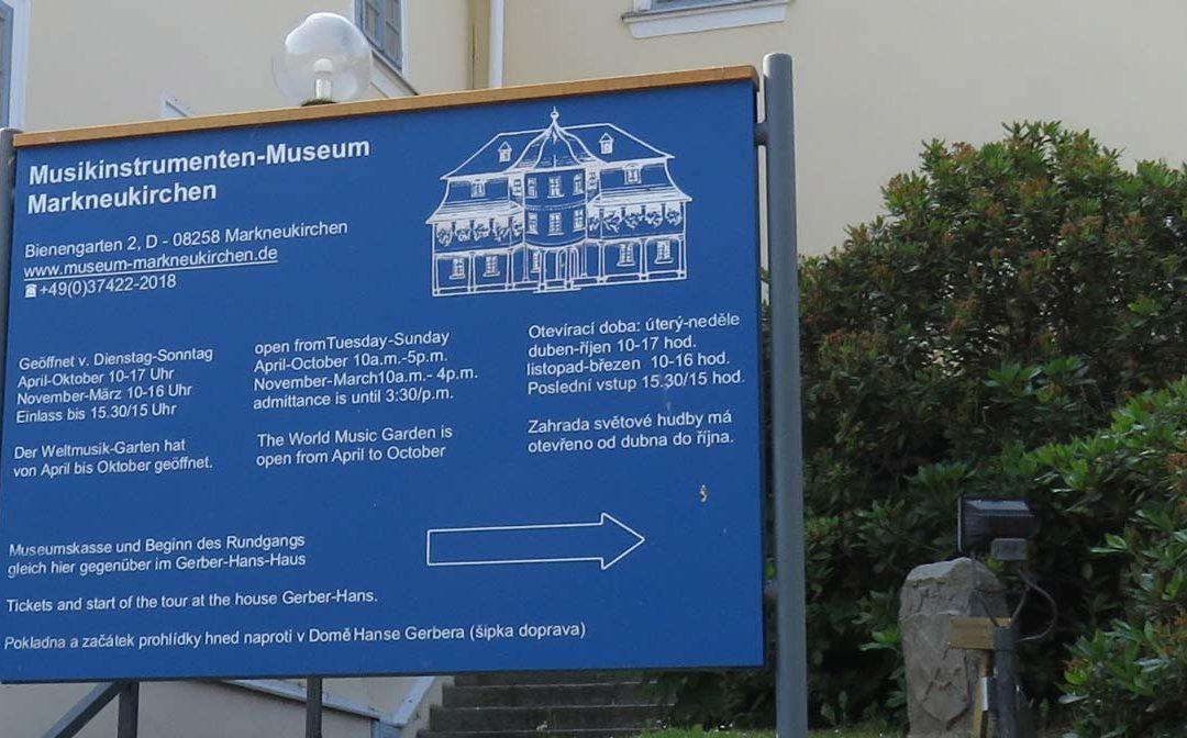 Besuch im Musikinstrumenten-Museum Markneukirchen