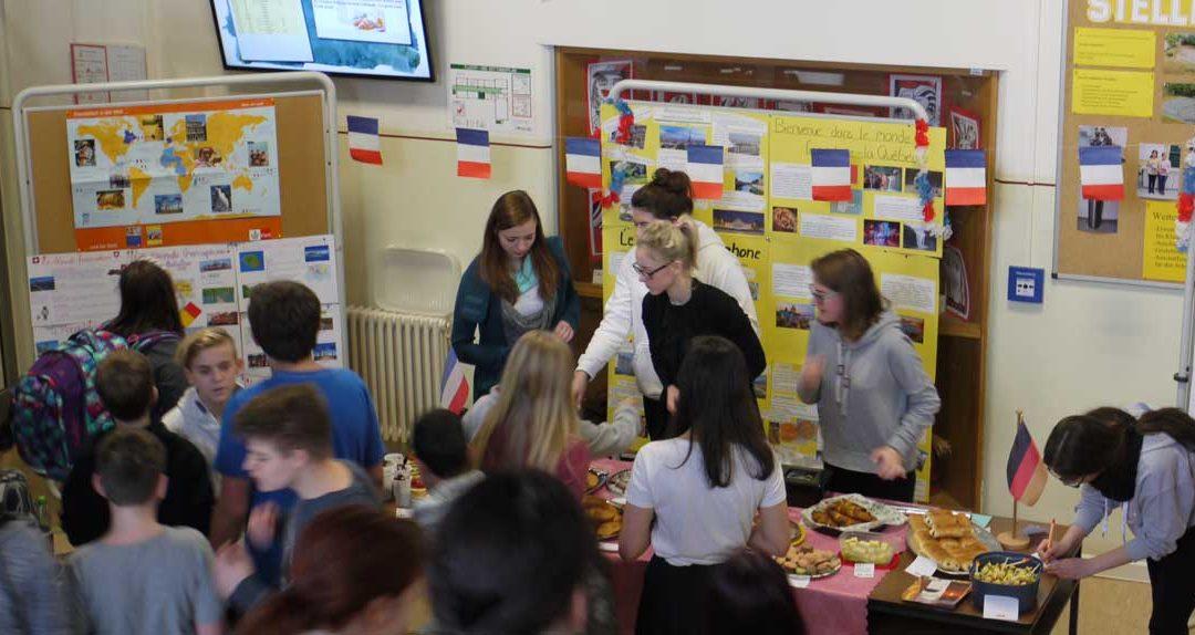 Deutsch-Französischer Tag an der Kemmlerschule