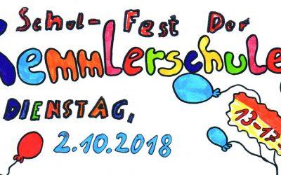 Eindrücke vom Schulfest am 2. Oktober 2018